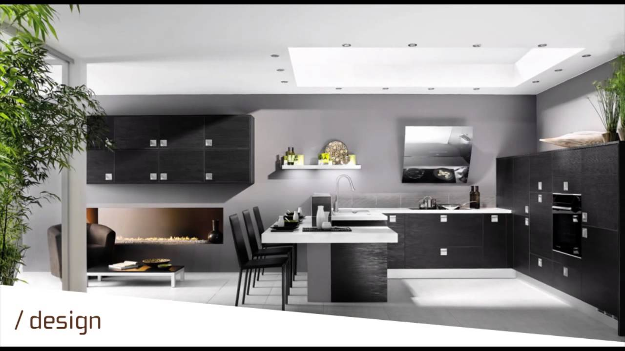 perene pau cuisines design youtube. Black Bedroom Furniture Sets. Home Design Ideas