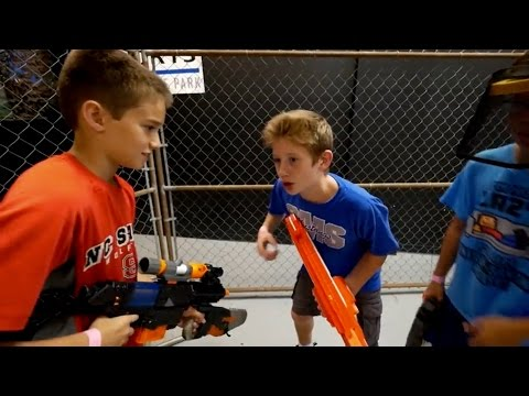 Nerf War: War Games Training