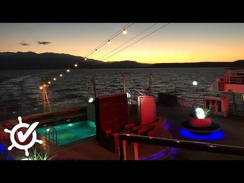 MS Amadea: Auslaufen aus Souda Bay (Facebook Live)