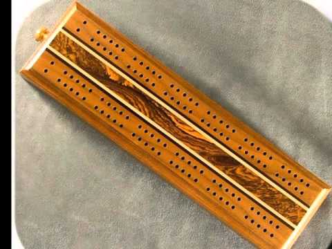 Cribbage Boards Of Beautiful Wood Custom Handcrafted By