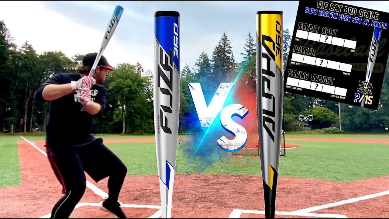 Easton Fuze XL vs. Easton Alpha XL - Best Easton BBCORs of the year? BBCOR Baseball Bat Reviews