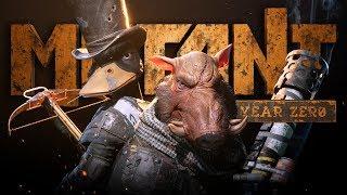 ŚWIETNE POSTAPOKALIPTYCZNE POŁĄCZENIE RPG I STRATEGII - Mutant Year Zero (Gameplay PL)