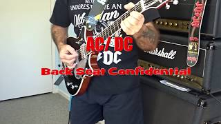 AC  / DC Back Seat Confidential Malcolm Young's Rhythm