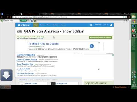 How To Download Gta Iv San Andreas In Snow Edition