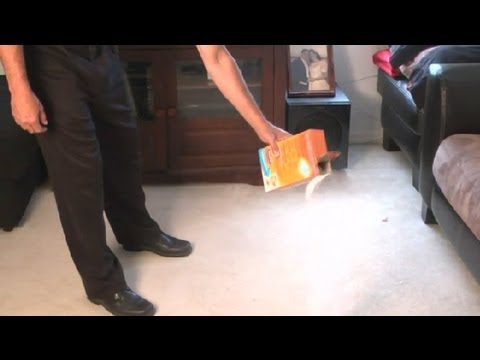 How to Get the Wet Smell Out of Flooded Carpet : Carpet Cleaning Tips