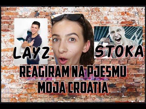 REAGIRAM NA PJESMU MOJA CROATIA // BergaVideo