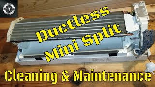 Ductless Mini Split Cleaning And Maintenace (Complete Tear Down)