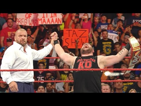 Download KEVIN OWENS WINS WWE UNIVERSAL CHAMPIONSHIP! WWE RAW Review 8/29/2016