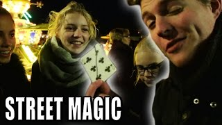 STREET MAGIC: SPLIT DECK auf dem Weihnachtsmarkt - ADVENTSKALENDER #1