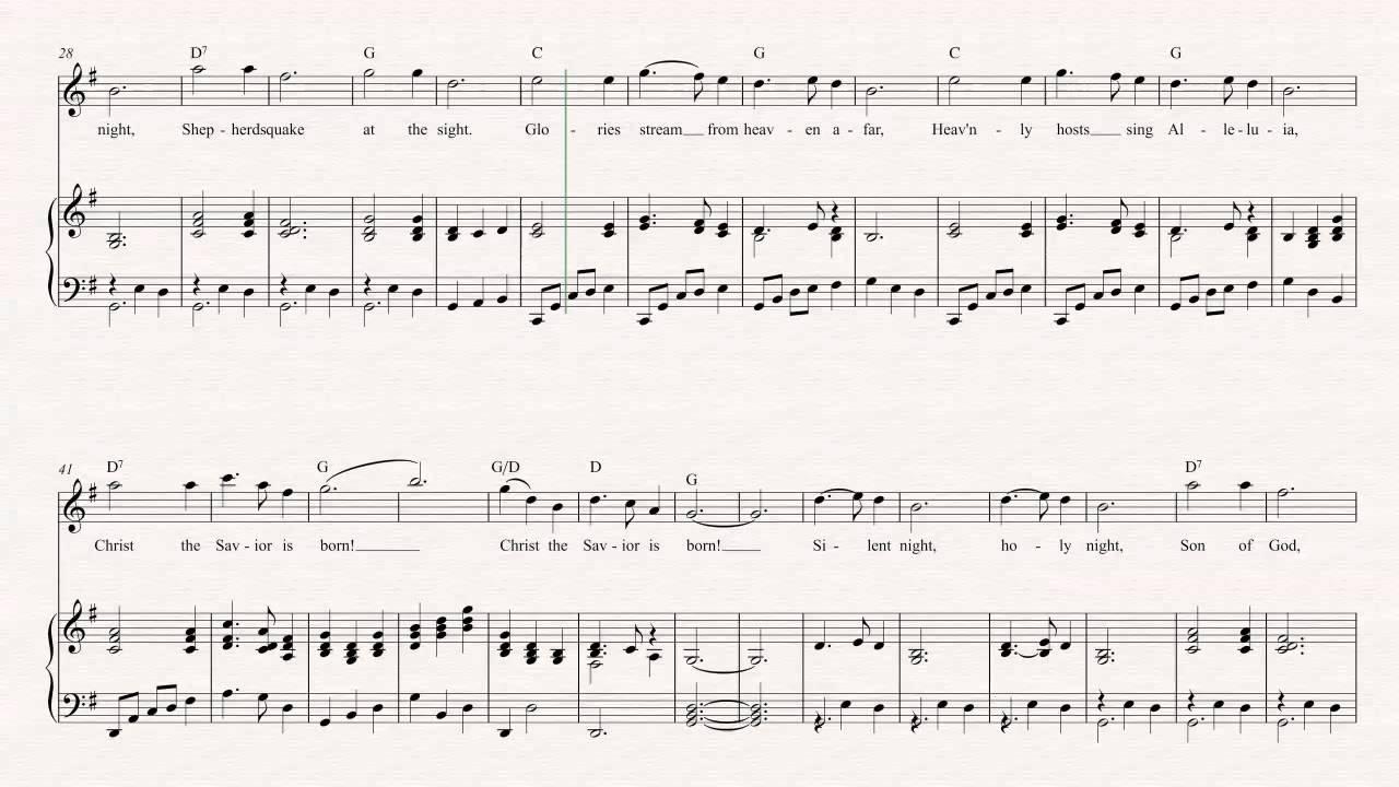 Flute silent night christmas sheet music chords vocals flute silent night christmas sheet music chords vocals hexwebz Choice Image
