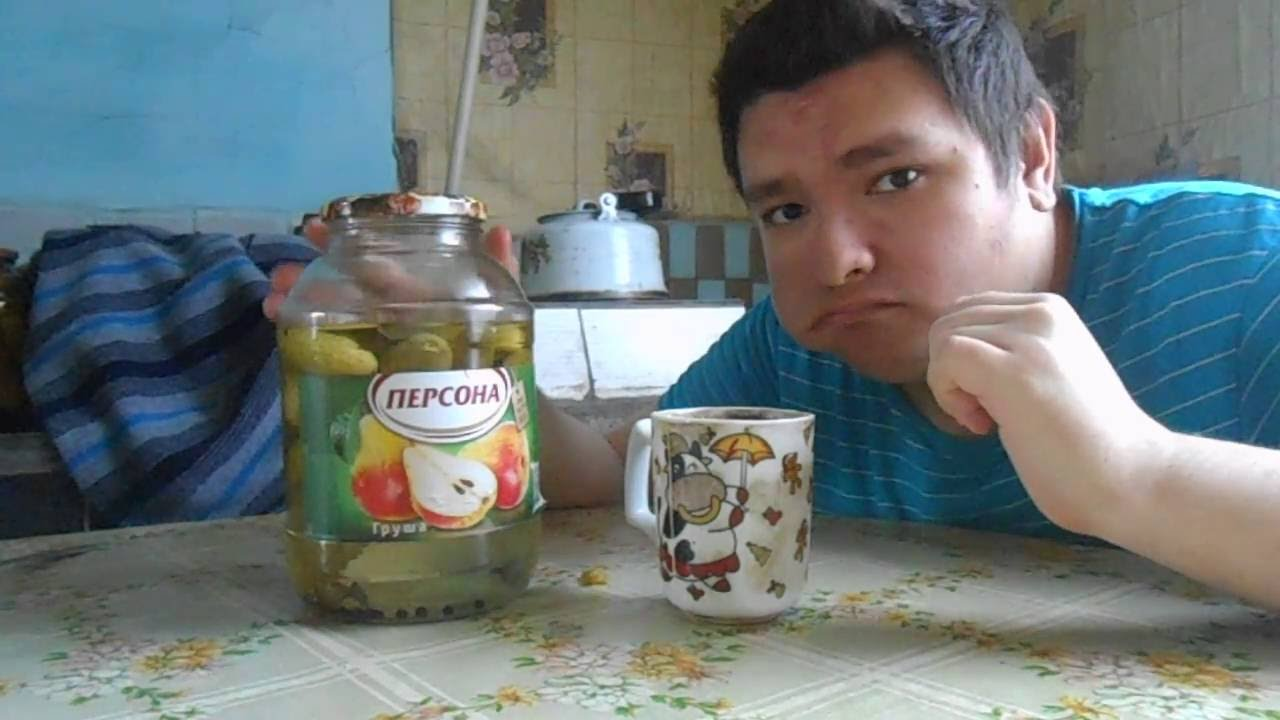 огурец с чаем