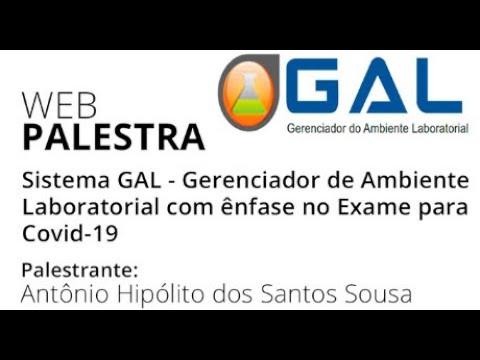 Sistema GAL - Gerenciador de Ambiente Laboratorial com ênfase no Exame para Covid-19