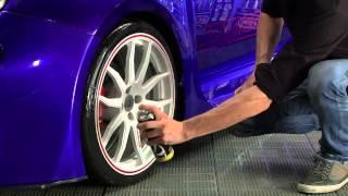 Comment noircir vos pneus à effet mouillé