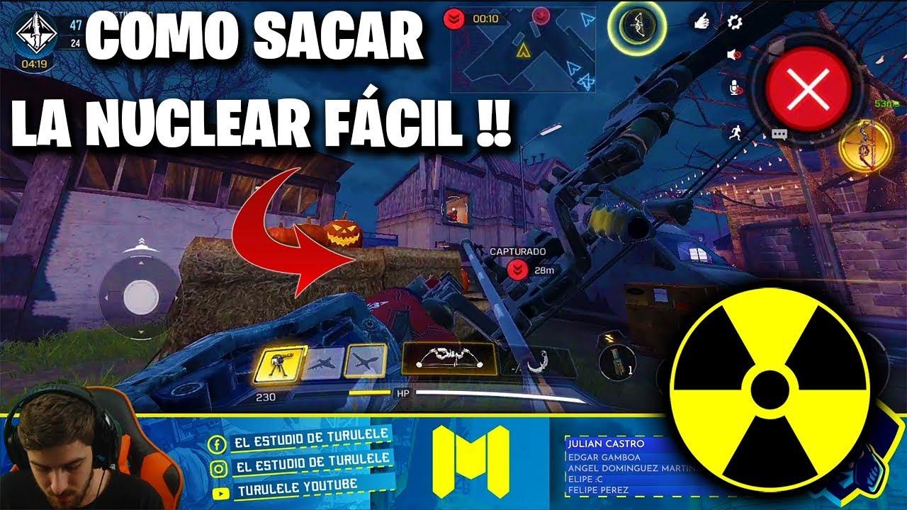 COMO SACAR UNA NUCLEAR MUY FÁCIL !! COD MOBILE CALL OF DUTY MÓVIL