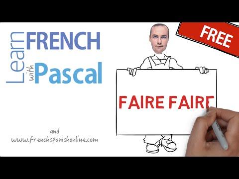 Faire faire in French