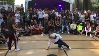 Undisputed @ IBE 2018   BGirl Semi-Final   JILOU vs AMI