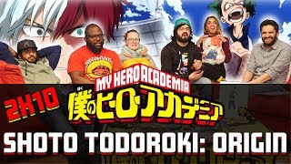 My Hero Academia - 2x10 Shoto Todoroki: Origin - Group Reaction