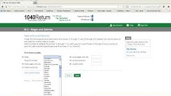 Easy Tax Preparation Software from 1040Return.com