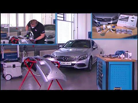 Mercedes-Benz – How To Repair a Damaged Bumper/Plastic Parts