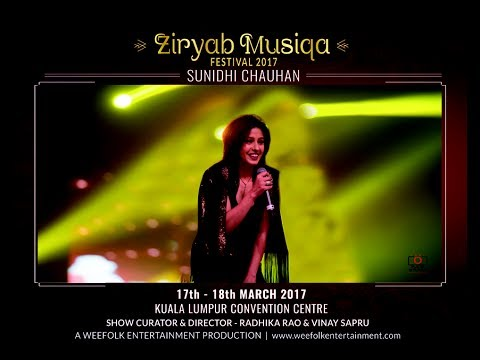 Sunidhi Chauhan... Our Desi Girl... At Ziryab Musiqa 2017 - Curated By Radhika Rao & Vinay Sapru