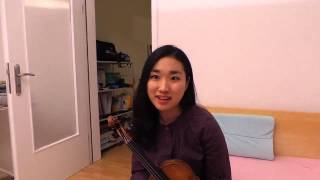 Wonhee Bae introduction - Sibelius Violin Competition 2015