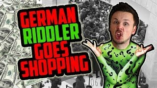 German Riddler Goes Shopping | Germanizing Retro Vlogs | 06