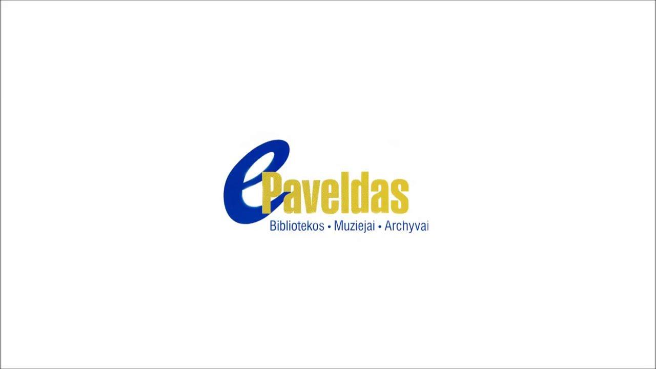 Lietuvių literatūros klasikos kolekcijos pristatymas portale www.epaveldas.lt