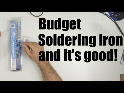 Solrep2000 - Budget Temperature-controlled Soldering Iron, Unboxing, Review And Demo (plus Tips)