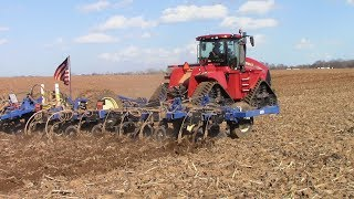 2018 Field Work Underway: New Case IH 620 Quadtrac