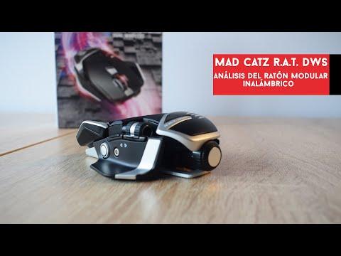 Mad Catz R.A.T. DWS. Análisis del ratón inalámbrico y modular sin iluminación | Gameit ES