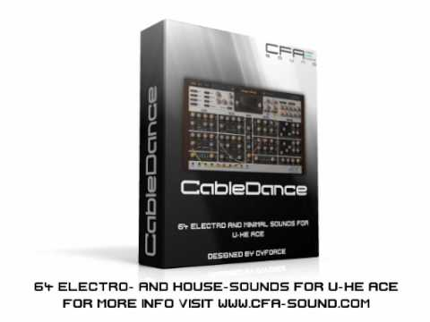 CFA-Sound CableDance - U-He ACE Soundset