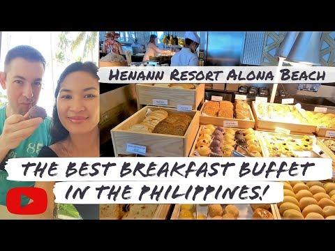 Best buffet in Panglao Bohol | Henann Resort Alona Beach Philippines P H