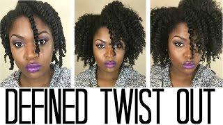 Defined Twist Out Tutorial Ft. Shea Moisture JBCO Leave In