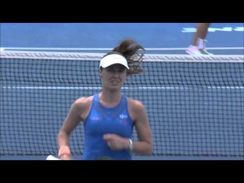 Hingis/Mirza v Duque-Marino/Pereira highlights (1R)   Australian Open 2016