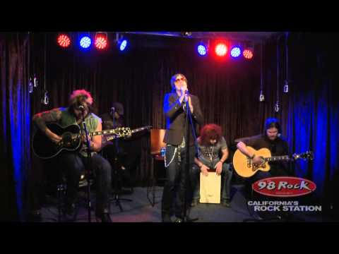 """Hinder """"Get Stoned"""" live at 98 Rock California's Rock Station"""