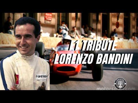 F1 Tribute Lorenzo Bandini