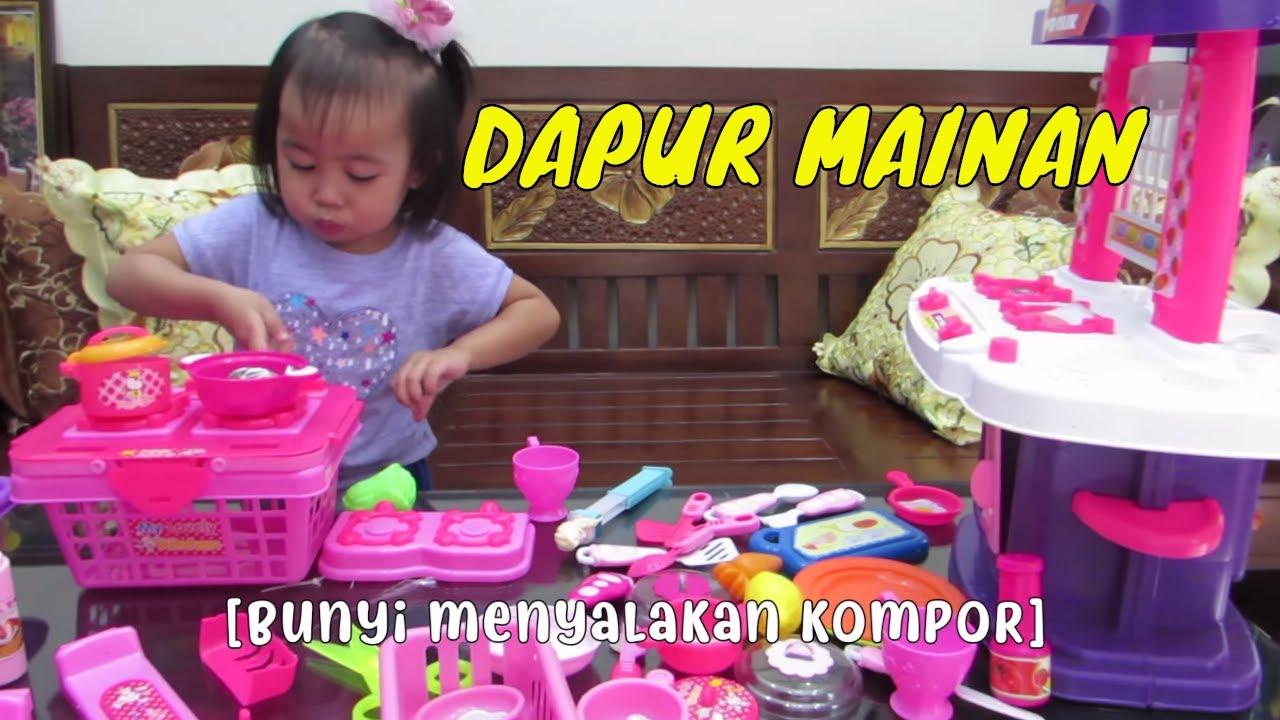 Dapur Mainan Anak Mainan Masak Masakan Balita Lucu Masak Kitchen Playset Cooking Youtube