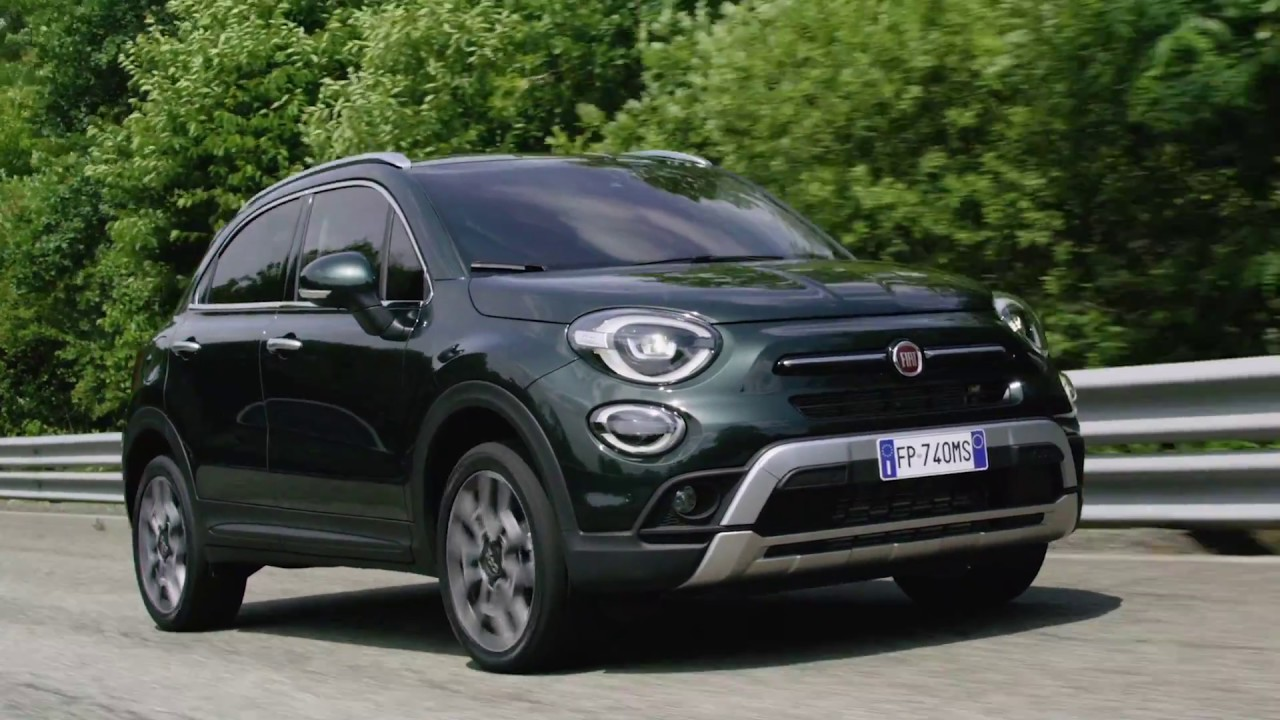 2019 fiat 500x cross video debut. Black Bedroom Furniture Sets. Home Design Ideas