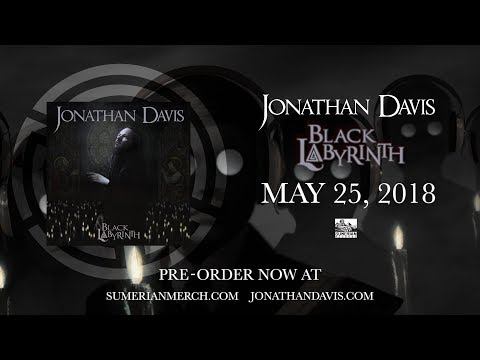 JONATHAN DAVIS  Black Labyrinth  Album
