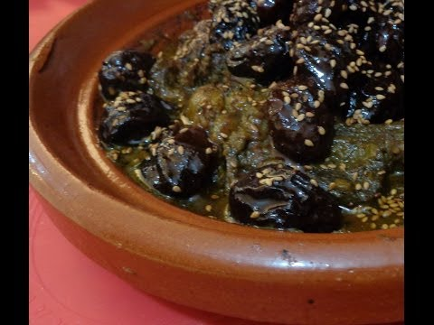 طاجين اللحم بالبرقوق,Tajin de ternera con ceruelas,platos tradicionales marroquies