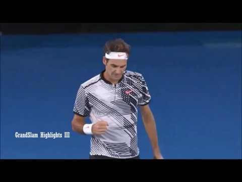 Roger Federer -How to completely destroy a top 10 player at the age of 35