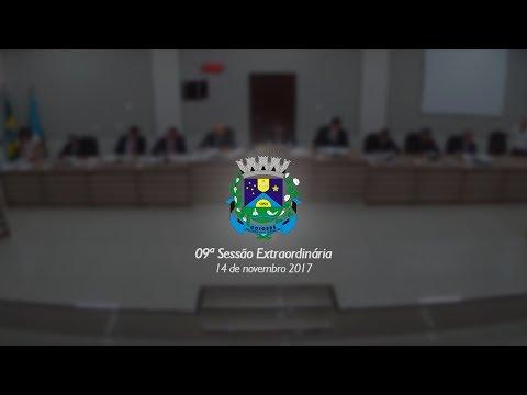 09ª Sessão Extraordinária