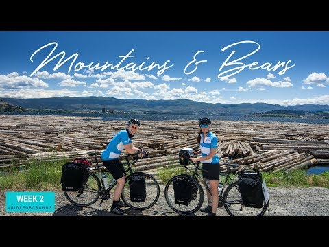 Cycling The Columbian And Rocky Mountains | Week 2 | Bike Touring Canada