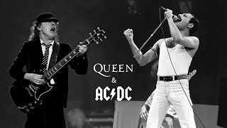 AC/DC ft. Freddie Mercury (Queen) - Hammer to Fall + Highway to Hell / Live @Heaven 2020 [MASHUP]