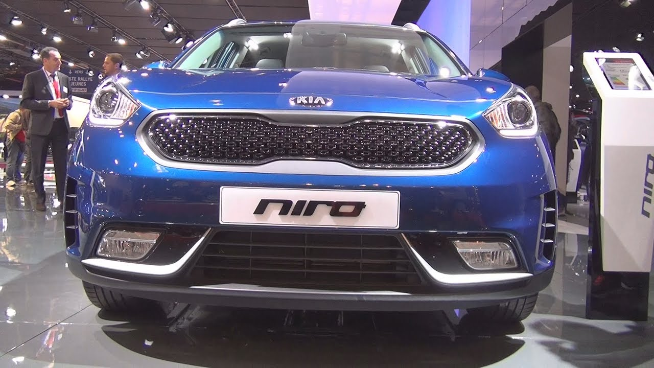 kia niro active 1 6 gdi hybrid 141 hp isg dct6 2017 exterior and interior in 3d youtube. Black Bedroom Furniture Sets. Home Design Ideas