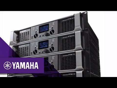 Yamaha PX Series Power Amplifiers | Professional Audio | Yamaha Music