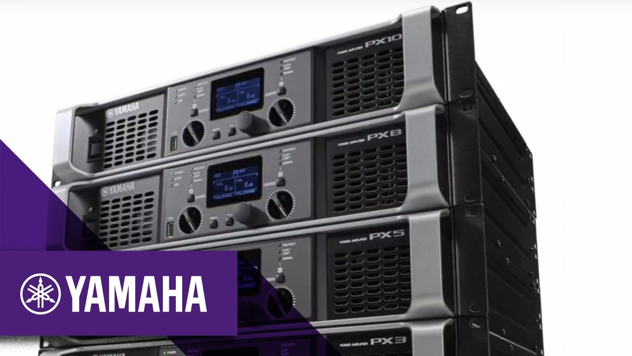 yamaha px series power amplifiers professional audio yamaha music youtube. Black Bedroom Furniture Sets. Home Design Ideas