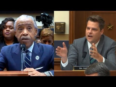 Michael Berry - Dems Have Sharpton Testify, GOP Rep Reads Back Al's Past Bigoted Statements