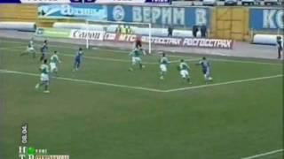 2007, Ростсельмаш - Томь- 2-2 Гол Калачёв