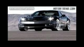 فيديو سباق سيارات مع بعض كورفيت و بورش و فراري و جيتي 2010